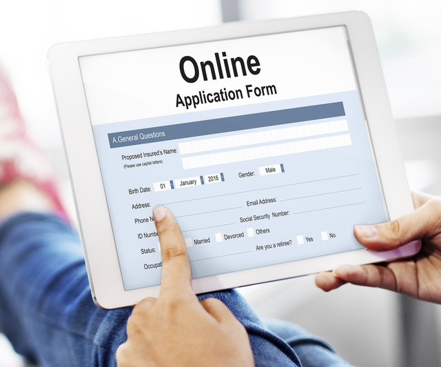 Online Application Form D